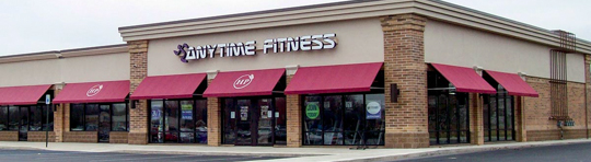 Anytime Fitness Exterior